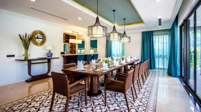 Phòng ăn Novotel Villas
