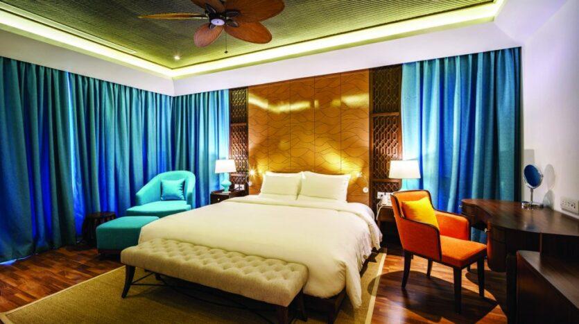 Phòng ngủ Novotel Villas