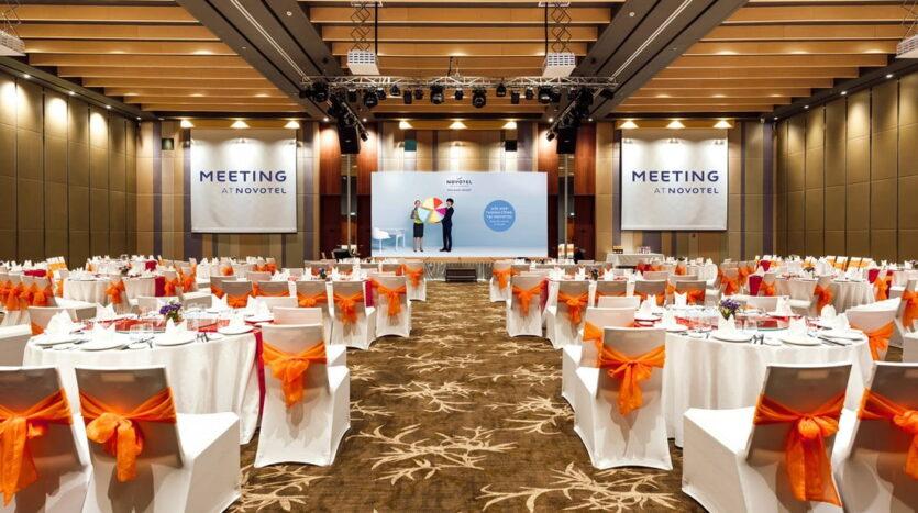 Phòng hội nghị tại Novotel Resort