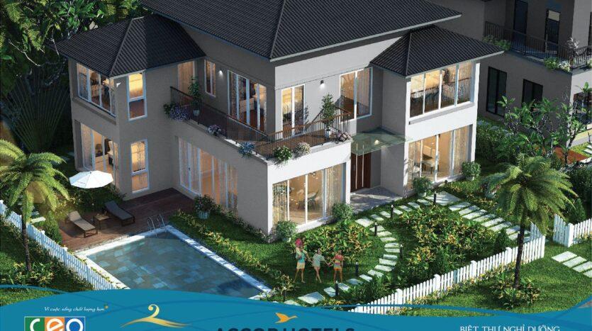 Phối cảnh biệt thự nghỉ dưỡng Novotel Villas – Harmony