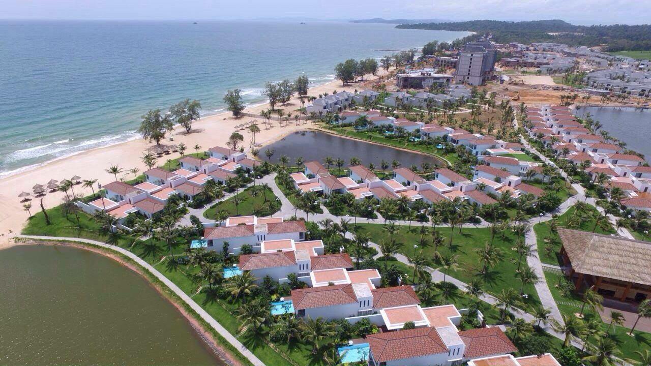 Khu nghỉ dưỡng Vinpearl Phú Quốc với quy mô gần 900 ha sẽ là điểm nhấn kiến trúc đầy ấn tượng của Vingroup