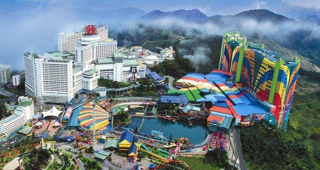 Khu quần thể Casino De Genting (Malaysia). Ảnh: nguồn Internet