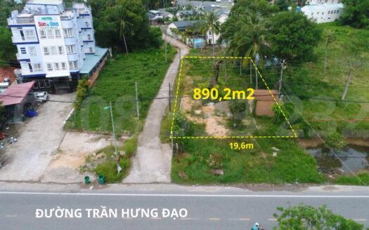 Bán 890m² Đất mặt tiền đường Trần Hưng Đạo