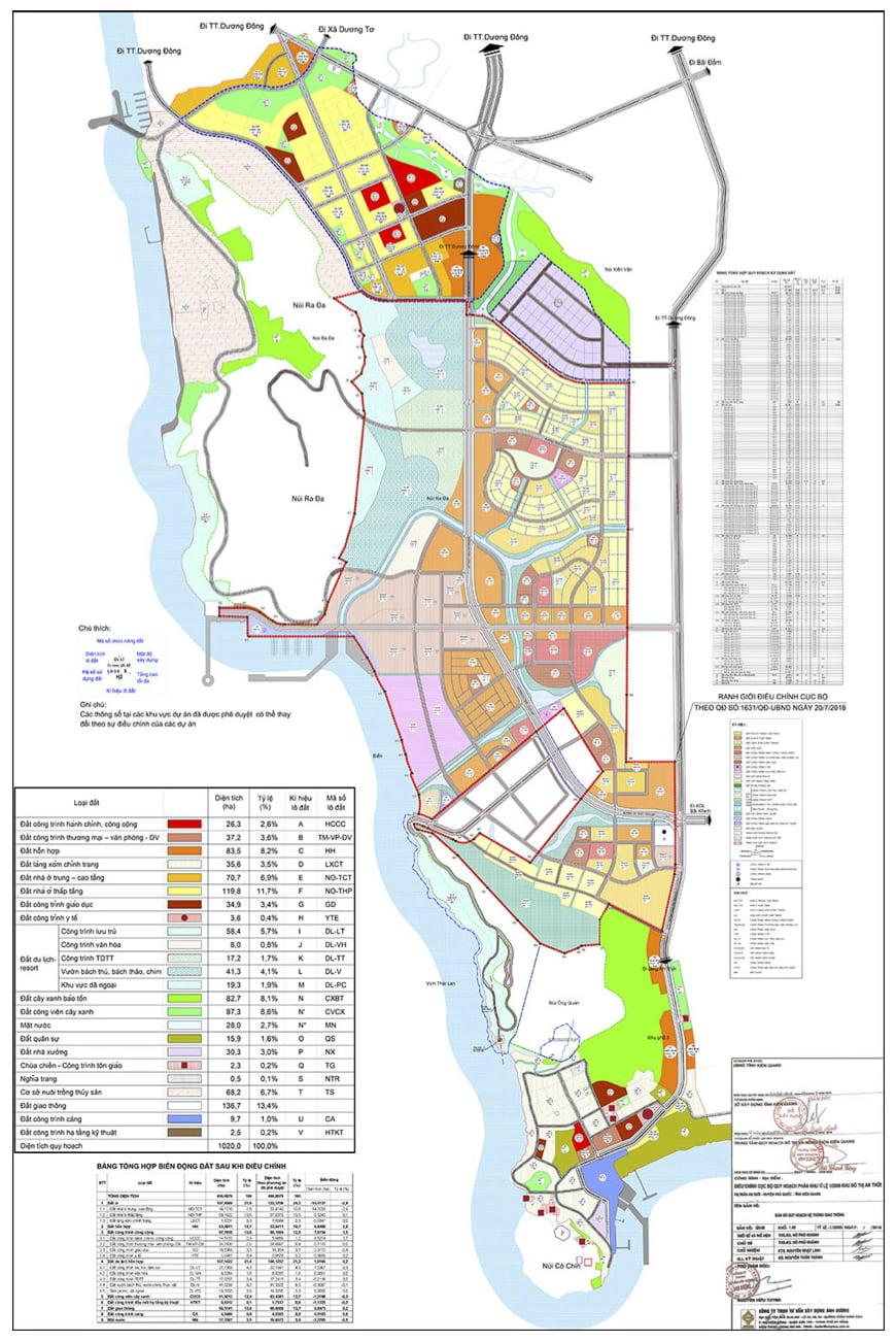 Bản đồ Quy hoạch An Thới