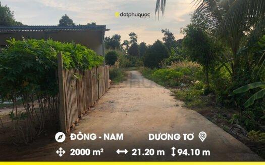 Bán 2000m² Đất hẻm đường Trần Hưng Đạo